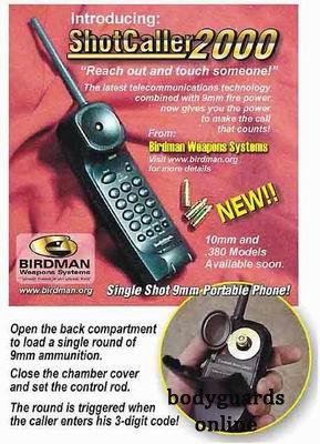 Мрія терориста: телефон-пістолет замість телефона-автомата