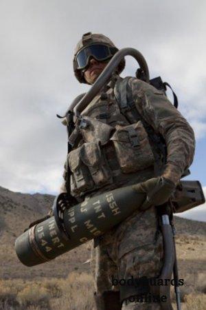Створений військовий екзоскелет на паливних елементах