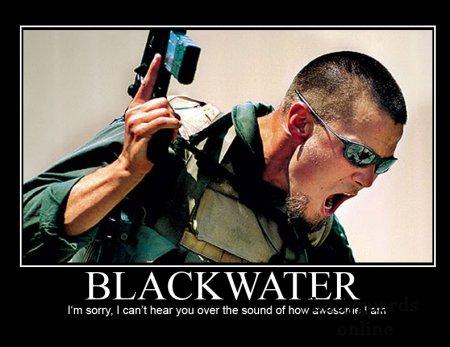Блекуотер Blackwater - «Чорна вода» - приватна американська охоронна фірма