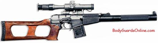 Снайперська гвинтівка всс гвинторіз
