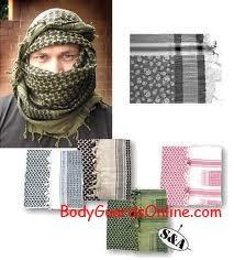 Арабська хустка шемаг «АРАФАТКА». Як носять і Як зав'язують