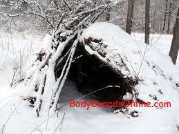Зимовий притулок своїми руками для справжніх цінителів екстремального відпочинку