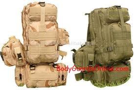 Кілька нових рюкзаків розроблених для американської армії
