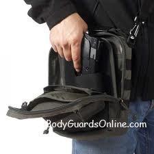 Якщо використання звичайної кобури ускладнено або неможливо, вихід є  - сумка-кобура для прихованого носіння зброї.