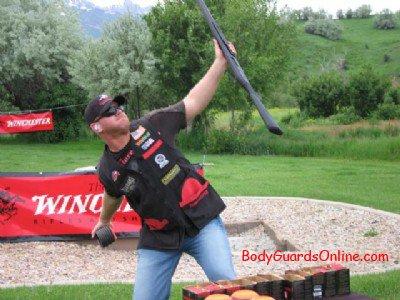 Майстер клас стрільби по тарілочках: Патрік Фленіган