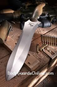 Бойовий ніж Mercworx на якому можна було ставити клеймо: «перевірено на людях».