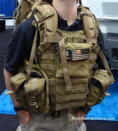 Военный рюкзак будет незначительно отличаться от коммерческого.