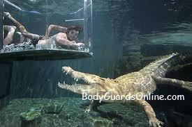 Екстремальний туризм. В гостях у крокодила.