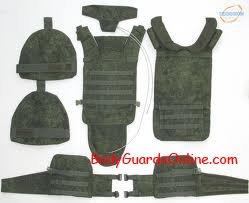 Один з останніх бронежилетів прийнятих на озброєння Російської армії.