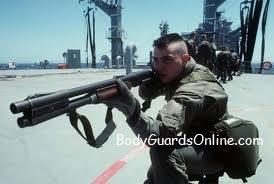 Гладкоствольна зброя якою користуються військові.
