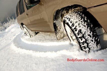 Рекомендації по підвищенню прохідності по снігу автомобіля класичної компановки.