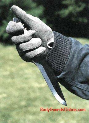Как правильно держать нож  okru