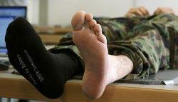 Армійські шкарпетки - тиждень без прання, це реально!
