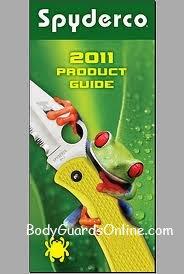 Каталог ножів Spyderco 2011р.