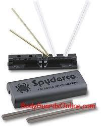 Ідеальне пристосування для заточування ножа - це пристосування Spyderco Sharpmaker і Lansky