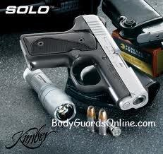 Новий, в компактному форматі, пістолет Solo Carry від Kimber