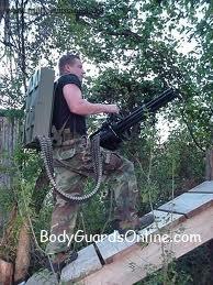 Одна з найбільш скорострільної серійної зброї: M134 Minigun