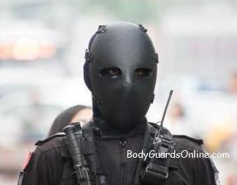 Куленепробивна тактична маска для обличчя NIJ IIA