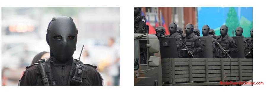 Куленепробивна тактична маска для обличчя NIJ IIA ... acffef0238785