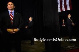 Робота команди охоронців президента США.