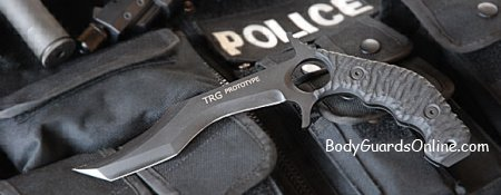 TRG - тактичний ніж військових і поліцейських спецназів Нової Зеландії.