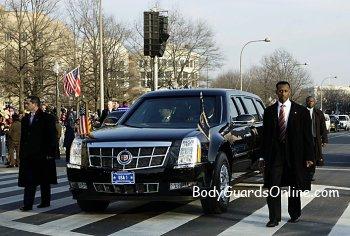 Президент США застряг у воротах