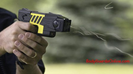 Несмертельна електрична шокова зброя.