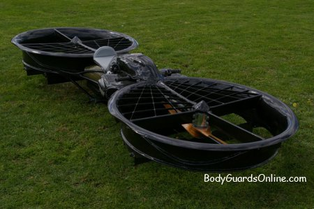 «Hoverbike» - перший у світі літаючий мотоцикл