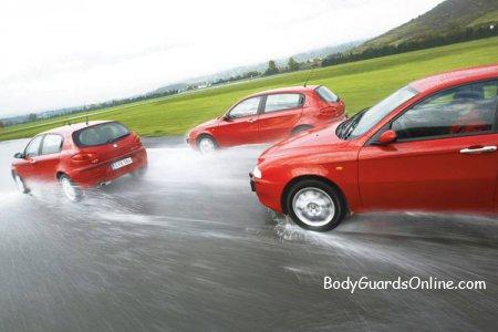 Поради, для вибору правильного швидкісного режиму на мокрій дорозі