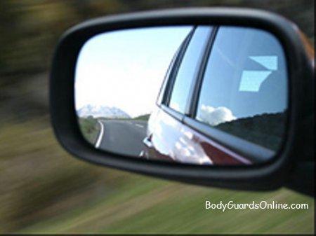 Налаштування автомобільних дзеркал, з метою мінімізації мертвих зон