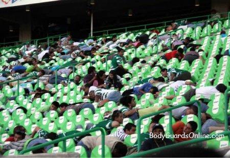 Стрілянина під час футбольного поєдинку мексиканських команд