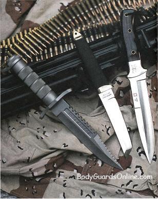 Бойовий ніж - призначення для вирішення бойових і оперативно-службових завдань
