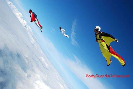 BASE Jumping - вид спорту де адреналін зашкалює