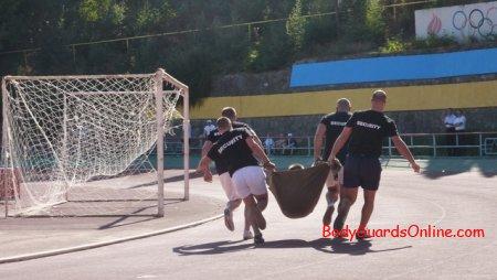 Перший день чемпіонату світу з охоронців - Ялта 2011 року.