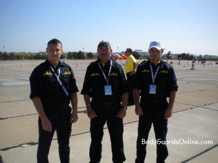 Другий день чемпіонату світу з охоронців та екстремальне водіння