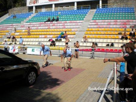 Чемпіонат світу з охоронців - останній день, останній вид, перевірено - мін немає!