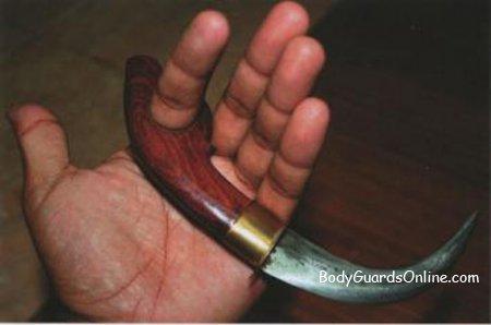 Керамбіт - грізна зброя ближнього бою
