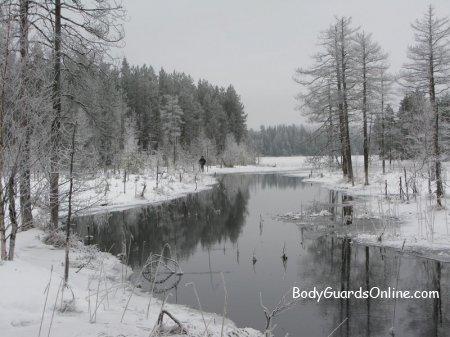 Ночівля в зимовому лісі