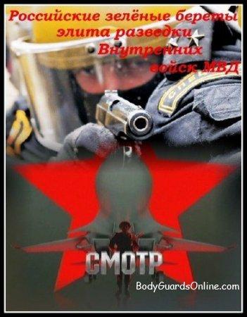 Російські зелені берети: еліта розвідки Внутрішніх військ МВС