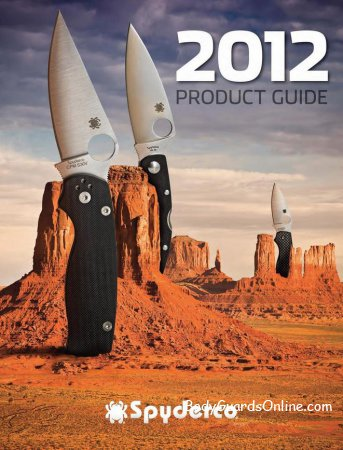 Spyderco 2012 - новий каталог ножів