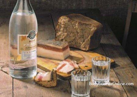Горілка - алкогольні традиції