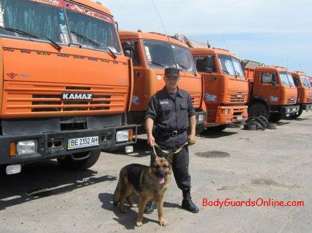 Тактичні дії при забезпеченні безпеки вантажів, що перевозяться автомобільним транспортом (Частина 1)