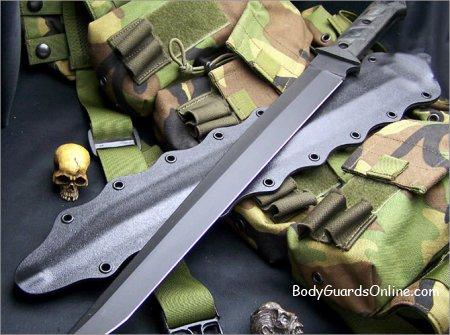 Цікаві тактичні мечі виготовлені майстром Джоном Гейдж