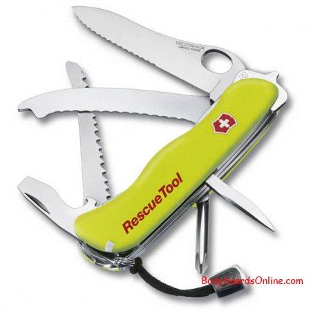 Victorinox Rescue Tool - відмінний функціональний ніж для рятувальників